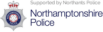 Supported by Northants Police